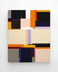 Richard Schur, Beam, 2020, acrylic on canvas, 50 x 40 cm / 20 x 16 inch, available at Kristin Hjellegjerde Gallery, London and Berlin