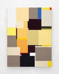 Richard Schur, Entity, 2020, acrylic on canvas, 120 x 90 cm / 47 x 35 inch, available at Kristin Hjellegjerde Gallery, London and Berlin