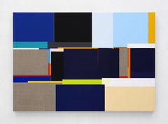 Richard Schur, Sea, 2021, acrylic on canvas, 70 x 100 cm / 28 x 39 inch