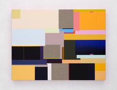 Richard Schur, Flow, 2019, acrylic on canvas, 90 x 120 cm / 35 x 47 inch, available at Galerie 21.06, Ravensburg