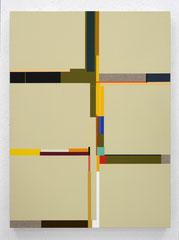 Richard Schur, Grove, 2021, acrylic on canvas, 80 x 60 cm / 31 x 24 inch