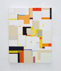 Richard Schur, Modernist Study, 2018, acrylic on wood, 56 x 44 cm / 22 x 17 inch, available at Galerie 21.06, Ravensburg