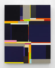 Richard Schur, Passenger, 2012, acrylic on canvas,  64 x 51 cm / 25 x 20 inch, available at Cross Mackenzie, Washington, D.C.