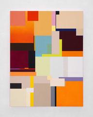 Richard Schur, Tigris, 2019, acrylic on canvas, 130 x 100 cm / 51 x 39 inch, available at Galerie 21.06, Ravensburg