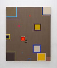 Richard Schur, Arrows of Time, 2017, acrylic on canvas, 160 x 130 cm / 63 x 51 inch