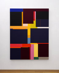 Richard Schur, Victory, 2020, acrylic on canvas, 160 x 120 cm / 63 x 47 inch, available at Kristin Hjellegjerde Gallery, London and Berlin