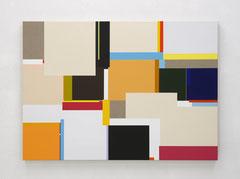 Richard Schur, Mirage, 2019, acrylic on canvas, 100 x 140 cm / 39 x 55 inch, available at Galerie Stefan Vogdt, Munich