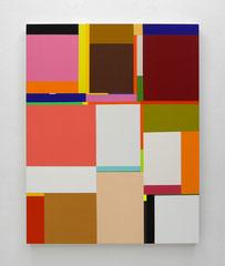 Richard Schur, Wild Roses, 2016, acrylic on canvas,  140 x 110 cm / 55 x 44 inch