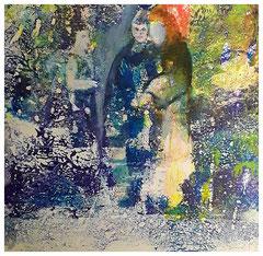 Die Fee, die Hexe, der alter Mann und die Katze (25x25 mit PP)