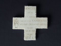 CT02PC CRUZ ANGEL DE LA GUARDA 10X 0 CM