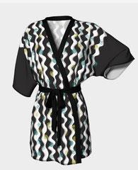 Atomic Rick Rack Kimono, my textile design