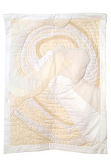 Emotion 3 2011 90cm x 120cm White cotton Lace Crocheted cotton Embroidery thread
