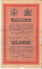 US Propaganda Leaflet front side found in the vicinity of Grussenheim (collection J. Herzig)