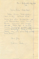 Walters last letter home written on Dec. 26, 1944  (Courtesy Family Roland Laich)
