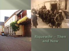 German POW's in today's Rue de la 1ere Armee