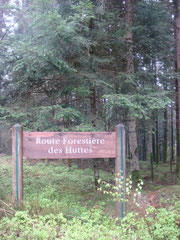 Site of the 2nd German roadblock