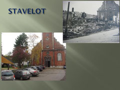 The Church of Stavelot - Then and Now