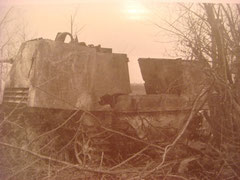 Rear viwe of the Blasisu Nashorn. No enemy tank was able to stand up against the deadly 8.8cm Pak mounted on this vehicle.