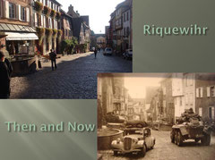 Allied cars in todays Rue de la Gen de Gaulle