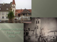 Ammerschwihr_La Fontainne de la Sinne - Then and Now