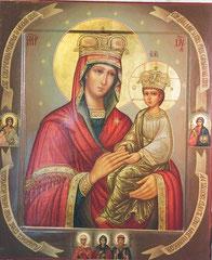 Образ Пресвятой Богородицы Споручница грешных.