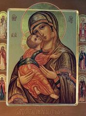 Образ Пресвятой Богородицы Владимирская.