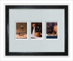 Still Life Triptych - Limited Edition ACEO Prints of Oil Paintings
