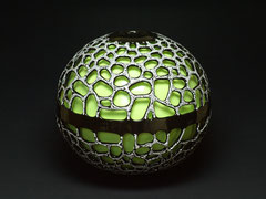 Vase-Unikat,   H 37 cm