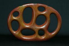 Vase Bionika 2, gegossen,  H 26,5 cm
