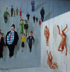 Fallende Marionetten