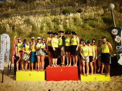 Podium féminin coupe des nations infinite ocean Biarritz