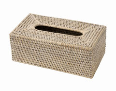 0046W Rectangular Tissue Box 25x14x10