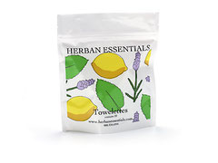 HERBAN Essential Oil Towelettes - 20 x Mix