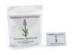 HERBAN Essential Oil Towelettes - Lavender