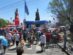 Volksfeststimmung am El Prado