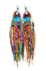 Boucles d'oreilles Gri-gri/cauris