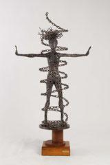 La mia catena - Misure (cm): 58x25x107