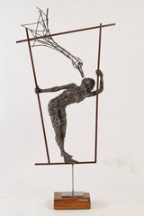 Untiled - Size (cm): 60x20x120 (NOT AVAILABLE) - metal sculpture