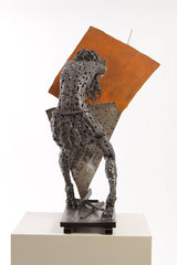 Untitled - Size (cm): 81x61x50 - metal sculpture - (NOT AVAILABLE)