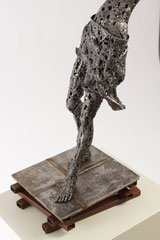 Untitled  - Size (cm): 50x29x92 - metal sculpture - (NOT AVAILABLE)