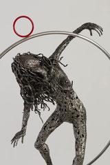 Untitled  - Size (cm):  88x62x27 - metal sculpture