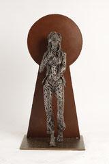Untitled  - Size (cm): 44x34x92 - metal sculpture