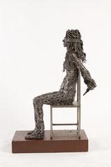 Untitled  - Size (cm): 45x25x73 - metal sculpture