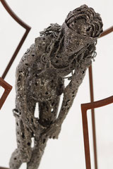 Untiled - Size (cm): 42x32x108 - metal sculpture