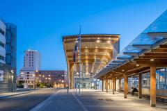 Photographie d'architecture - habitations commerces à Lorient - Morbihan