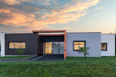 Photographie d'architecture - Cabinet médical à Saint-Nazaire - Loire Atlantique