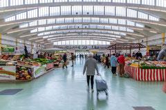 Photographie d'architecture - Les Halles de Saint-Nazaire