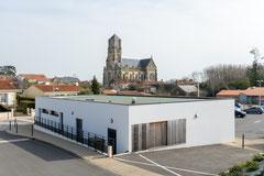 Photographie d'architecture - Commerce à Saint-Etienne du Bois