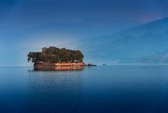Nepal. Pokhara. Phewa lake, 2010