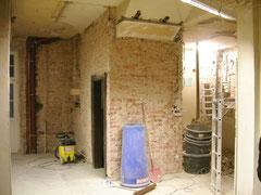 Kellereingang vorher
